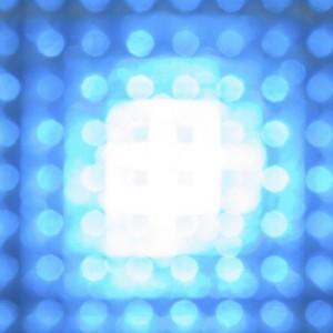 LED bleu toxique
